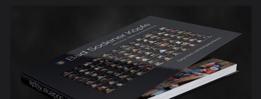 Das Buch - Bad Sodener Köpfe - endlich fertig und demnächst erhältlich bei der Buchhandlung Boris Riege