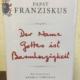 Papst Franziskus - Der Name Gottes ist Barmherzigkeit