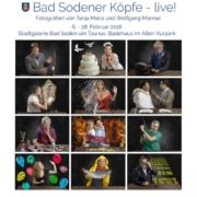 Bad Sodener Köpfe Plakat