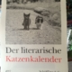 Literarischer Katzenkalender 2017