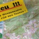 Neue Wanderkarte Vordertaunus mit Radwegen - wasserfest - mit UTM Gitter für GPS - mit Restaurants - mit Rundwanderwegen